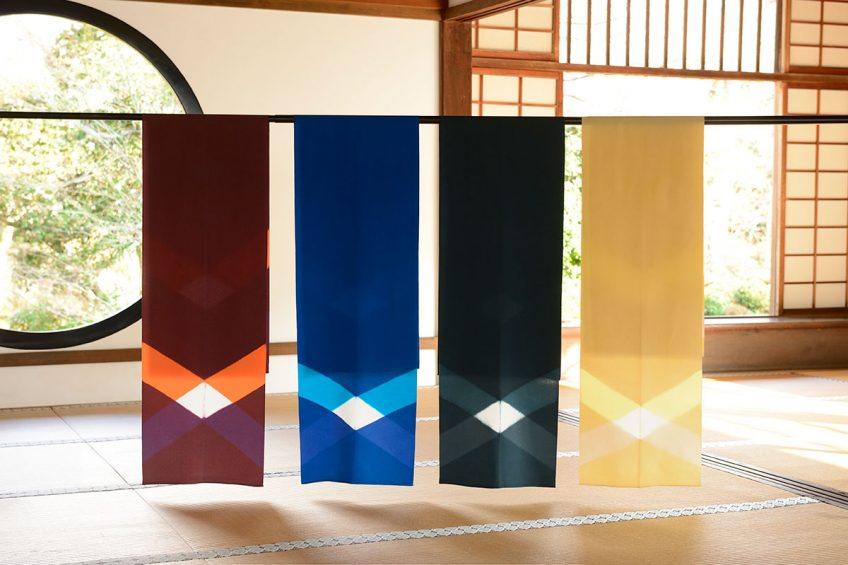 KYOTO DESIGN HOUSE にてKIZOME IRODORI スカーフ 販売