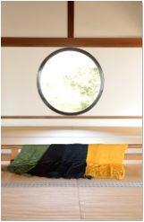 東京駅 八重洲の京都館にて 京都の絞り初 「デジタル3D絞 」展示販売