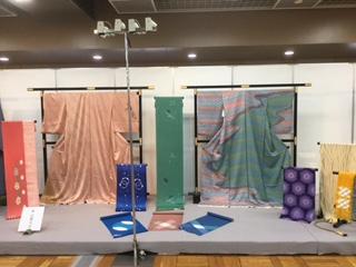 京鹿の子絞 工芸展 東京浅草 開催