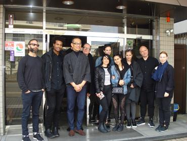 カナダのアパレルブランド Lululemonのデザイナー 訪問