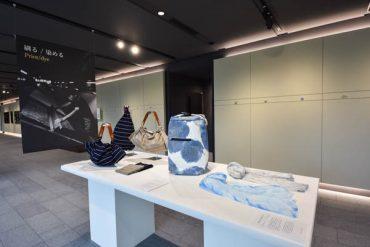 ニュイブランシュ2017 京都美術大学 にてUMIスカーフ展示