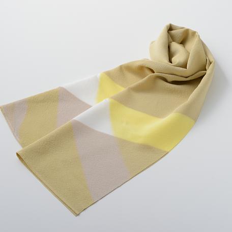 KIZOME_IRODORI_Scarf_square_yellow