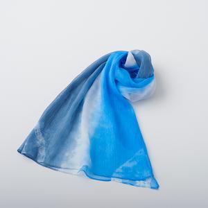 KIZOMÉ a.un スカーフ なみ 青
