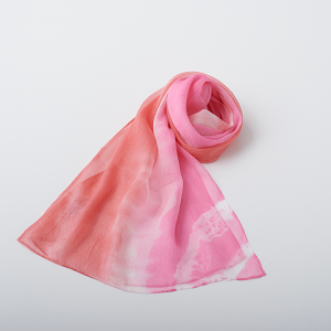 KIZOMÉ a.unスカーフなみ ピンク
