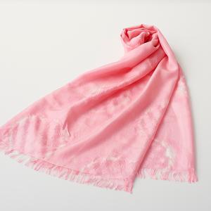 KIZOMÉ DIGITAL3D Shiboriスカーフ<わっふる>はつひ ピンク