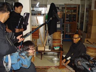 NHK国際放送 core kyoto テレビ取材